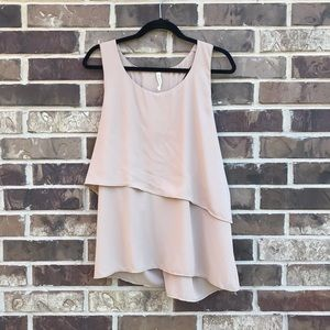 MyBeloved Tiered Swing Blouse